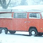 Snowed in VW by BlackHairMoe