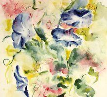Petunias by Joyce Ann Burton-Sousa