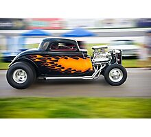 Flamin' Coupe Photographic Print