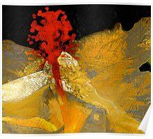 Pistil In Red... Kauai Sensual Series  Poster