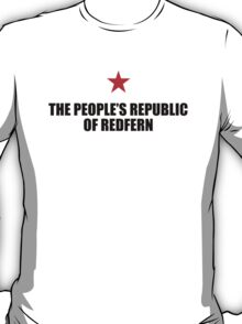 People's Republic of Redfern (Black) T-Shirt