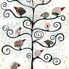 Autumn birds  by Jody  Pratt