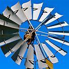 Windmill blades  by Ali Brown