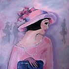 Demure in Pink by Marie Theron