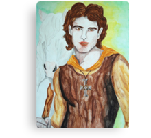 Saint Columba Canvas Print