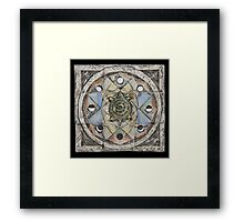 Spiral eight: cycles Framed Print