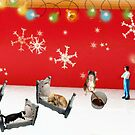 Wesley discovers that the whole 'not a creature was stirring' Christmas story was a myth. by Susan Littlefield