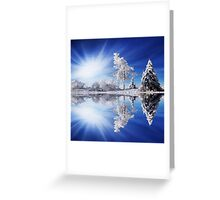 Cold Light Greeting Card