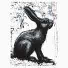 Giant Rabbit by ROA by GraffArt Tees