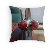 1959 Cadillac Fins Throw Pillow