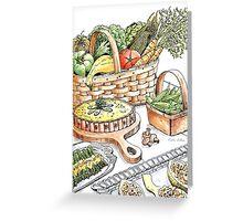 Vegetable Medley Greeting Card
