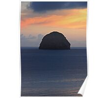 Rocher du Diamant & Sunset 2 Poster
