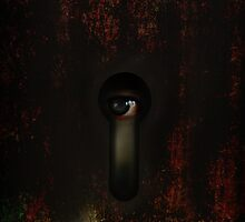 Peep through the bathroom door did you ever did you by Declan Carr