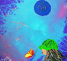 Kissing Butterflies by Chantel Schott