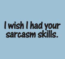 I wish I had your sarcasm skills by digerati