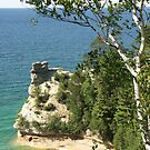 Miner's Castle at Pictured Rock by Bob Hardy