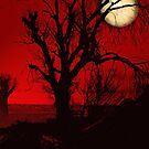 Red Moon Night by Zi-O