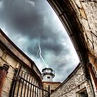 Lightning-struck Prison by MikeJagendorf