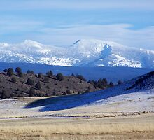 High Desert Mountain Majesty by heyginny
