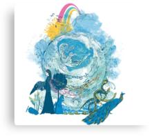 i love my planet Canvas Print