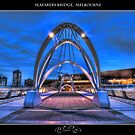 Seafarers Bridge, Melbourne II by Neville Christenson