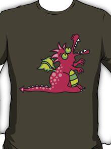 Magic Dragon :: Red T-Shirt