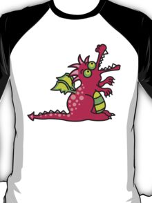 Magic Dragon :: Red T-Shirt