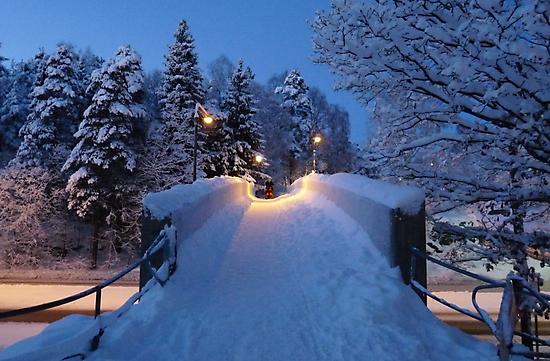 Winter In Suburbia II by HELUA