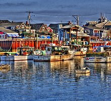 Lobster Boats in Perkins Cove by Monica M. Scanlan