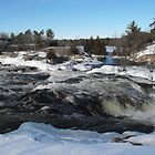 Burleigh Falls Ontario Canada. by Tracy Faught