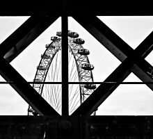 London Eye X + O by RIDGEWORKS