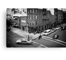 Streets of New York II Canvas Print