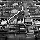 New York City Fire Escape by Dilshara Hill