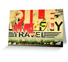 Travel! Greeting Card