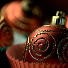 Christmas Bauble Cupcakes by Joy Watson