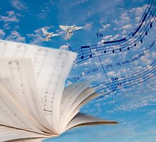 """Musical Winds"" surrealistic photo montage musically inspired by John Hartung"