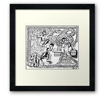 2005 Albion Bombings & Tribute to William Blake Framed Print