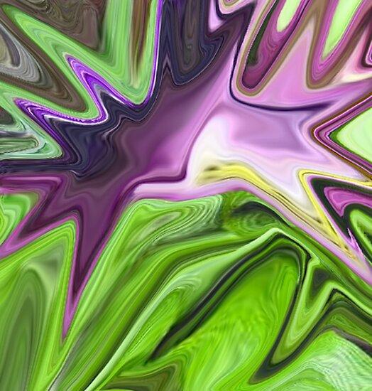 Digital Abstract by cheetaah