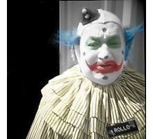 Rollo the Clown Photographic Print