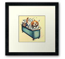 Happy Bathday! Framed Print