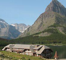 Many Glacier Lodge. by Maureen Dodd