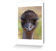 I Bet You Blink First Greeting Card