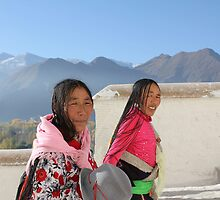 Faces of China - 3 by Susan Moss