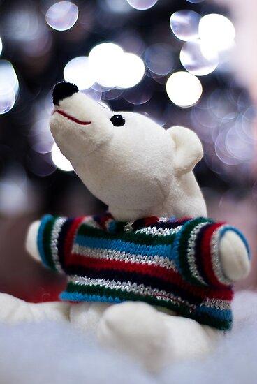 Polar bears Christmas by Lissywitch