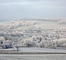 Frosted fields - Monmouth by missmoneypenny