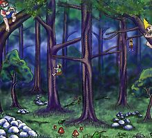 Forest Fellows by Billi French