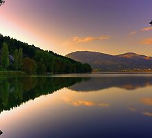 Automn Reflection,,,, by Tania Koleska