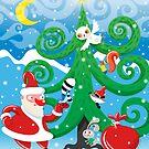 Santa by Lyuda