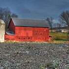 Tin Roof Barn by Sharon Batdorf