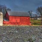 Tin Roof Barn by Sharon Batdorf